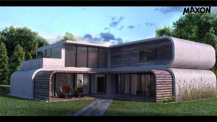 neues maxon webinar f r architekten. Black Bedroom Furniture Sets. Home Design Ideas