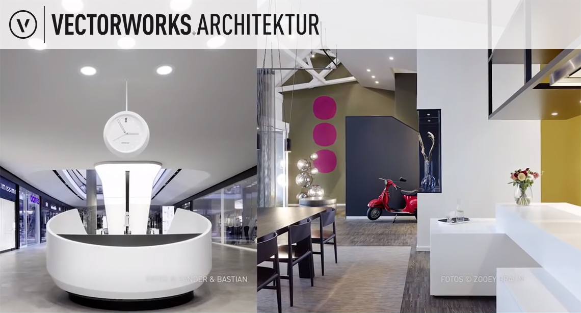 vectorworks cad software von computerworks. Black Bedroom Furniture Sets. Home Design Ideas