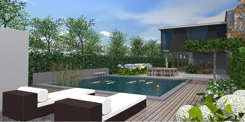 3D Gartenplan Mit Vectorworks