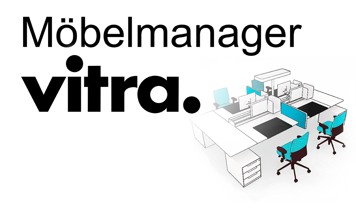 Der m belmanager von vitra innenarchitektur for Innenarchitektur tool
