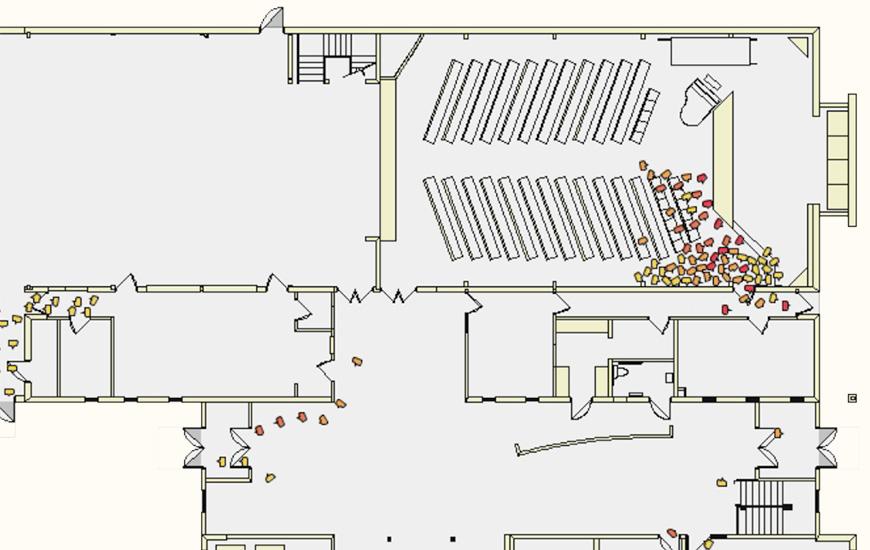 simtread pedestrian simulation software. Black Bedroom Furniture Sets. Home Design Ideas