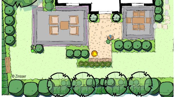 Garten und landschaftsbau plan  Von der Handskizze zum CAD-Plan: Vectorworks-Aufbauseminar