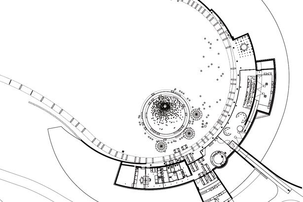 ein foyer zur steinzeit das infozentrum des arch opark vogelherd. Black Bedroom Furniture Sets. Home Design Ideas
