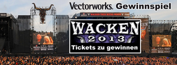 mit vectorworks tickets f rs wacken open air 2013 gewinnen. Black Bedroom Furniture Sets. Home Design Ideas